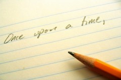 Once Upon A Time pencil